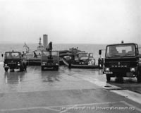 BH7 being moved to The Hovercraft Museum -   (The <a href='http://www.hovercraft-museum.org/' target='_blank'>Hovercraft Museum Trust</a>).